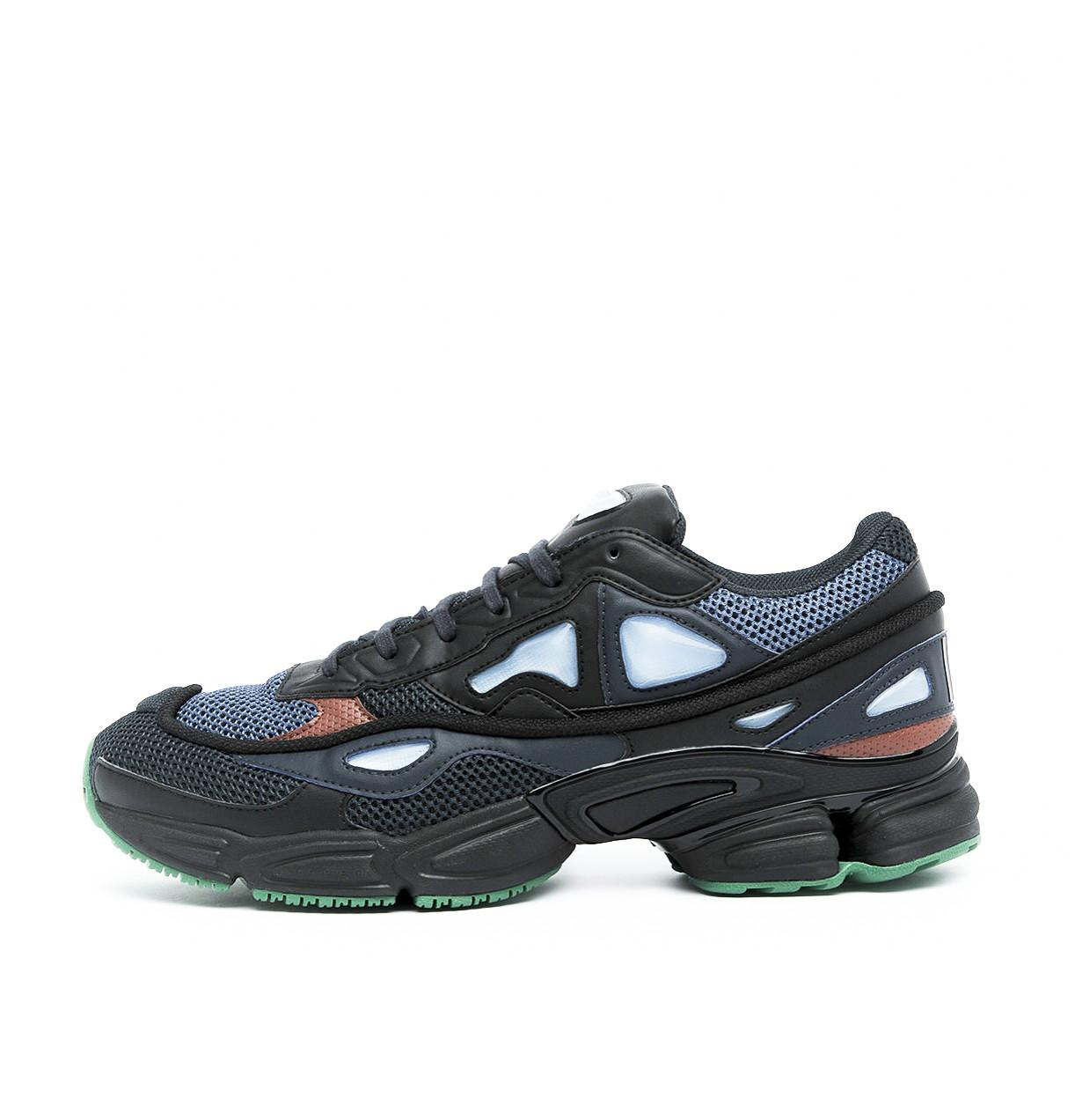 adidas by raf simons ozweego 2 marine sneakers in blue. Black Bedroom Furniture Sets. Home Design Ideas