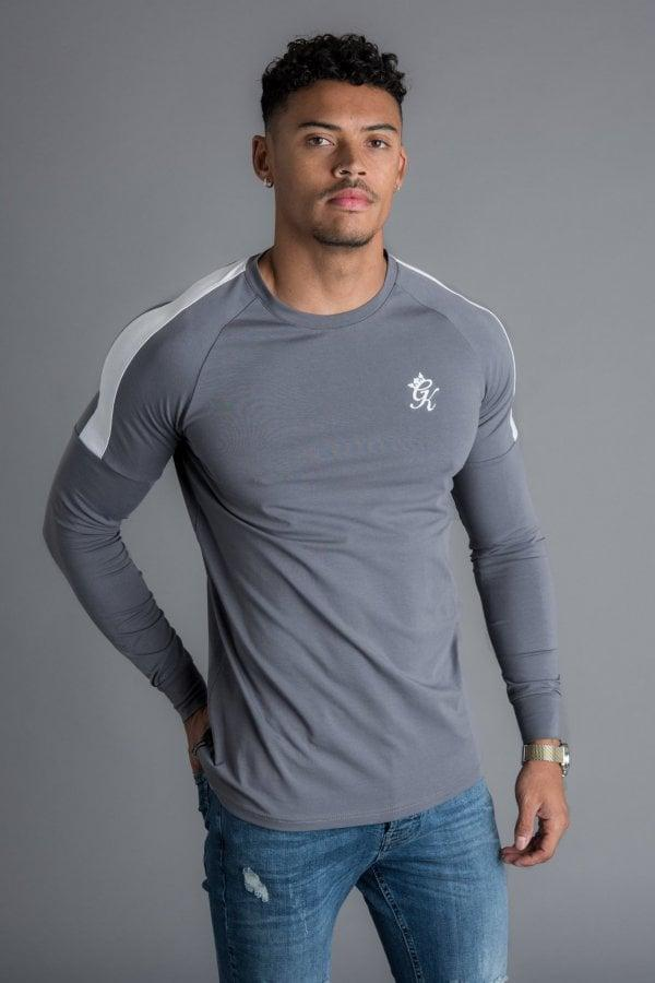 75469509 Gym King Core Plus Long Sleeve T-shirt in Gray for Men - Lyst