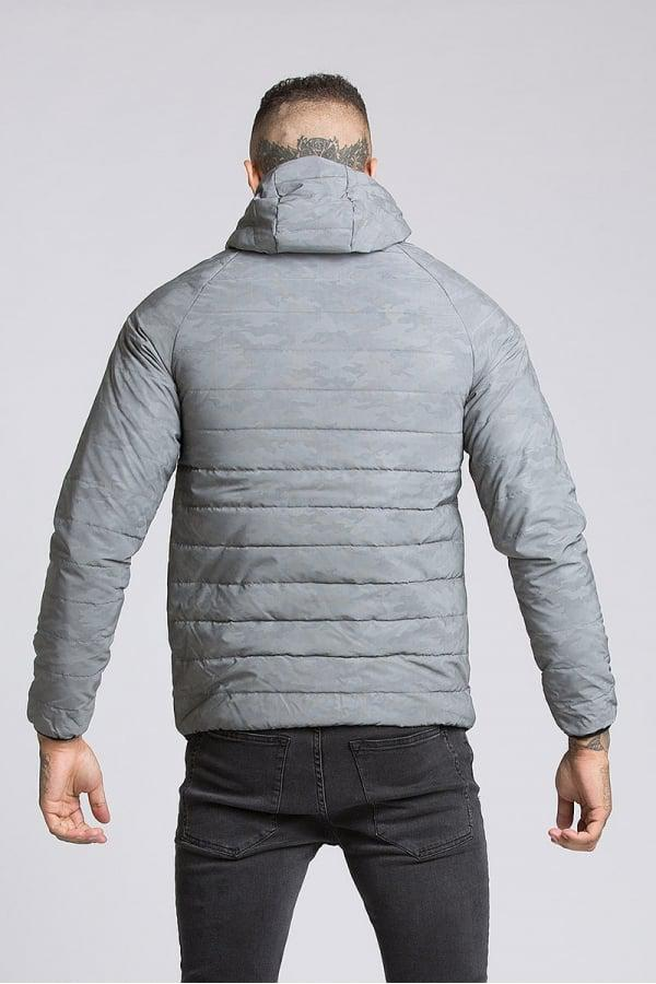 eca237f26b0be Kings Will Dream Elthrone Camo Reflective Puffer Jacket in Gray for ...