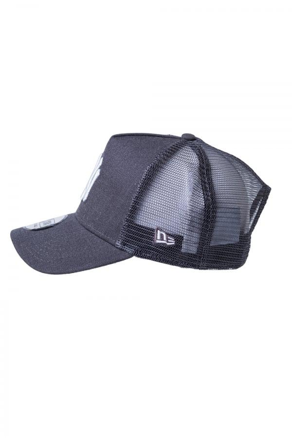 Ktz Ny Yankees Essential A Frame Trucker Cap- Heather Grey in Gray ... 277ea242017