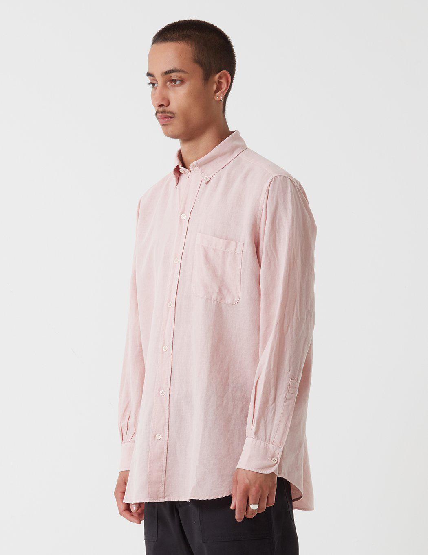 Stan Ray Cotton Brooklyn Long Sleeve Shirt in Grey (Grey) for Men