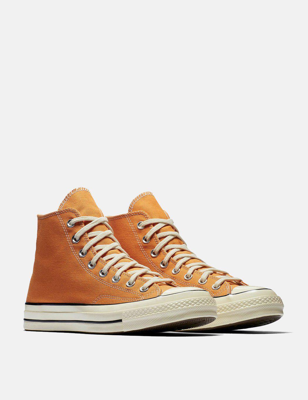 6c0594906bc3 Lyst - Converse 70 s Chuck Hi 159622c (canvas) in Orange for Men