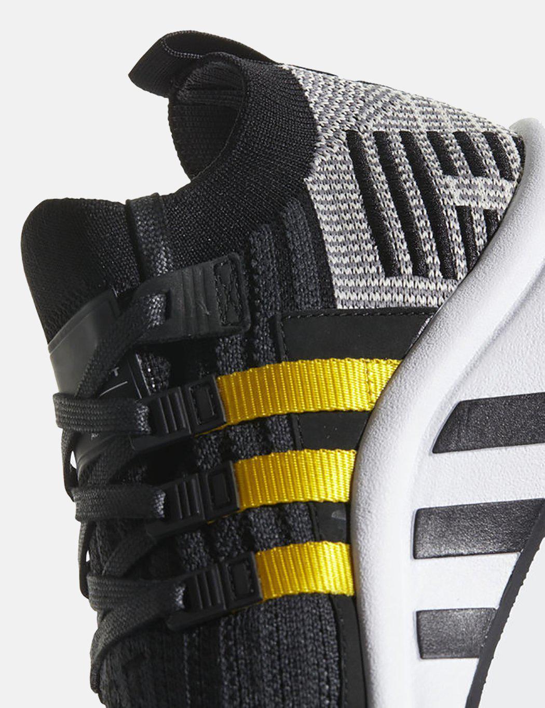 adidas originals eqt support mid adv sneakers in black cq2999