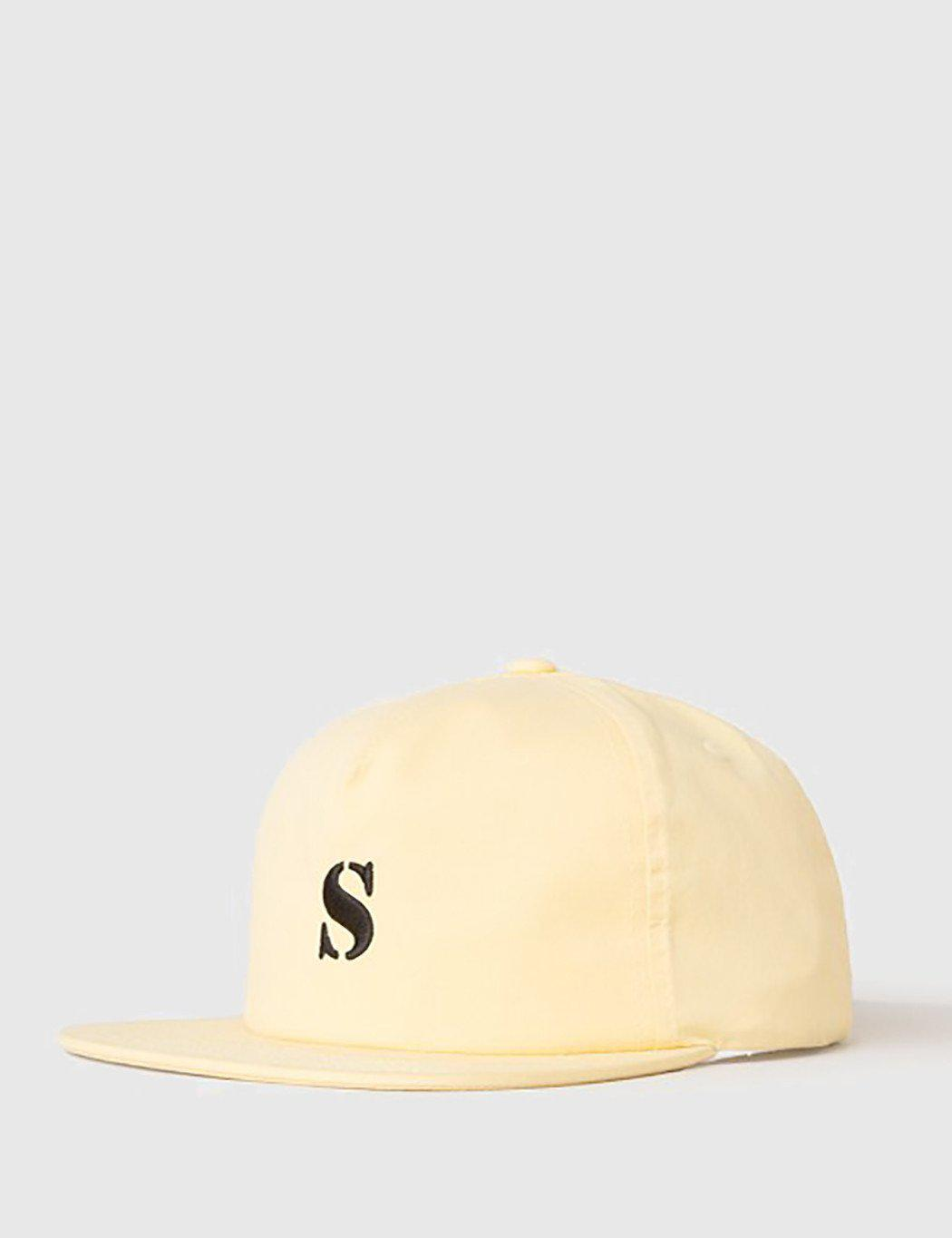 Lyst - Stussy Bio Washed Cap in Yellow for Men 019b0fb1a29