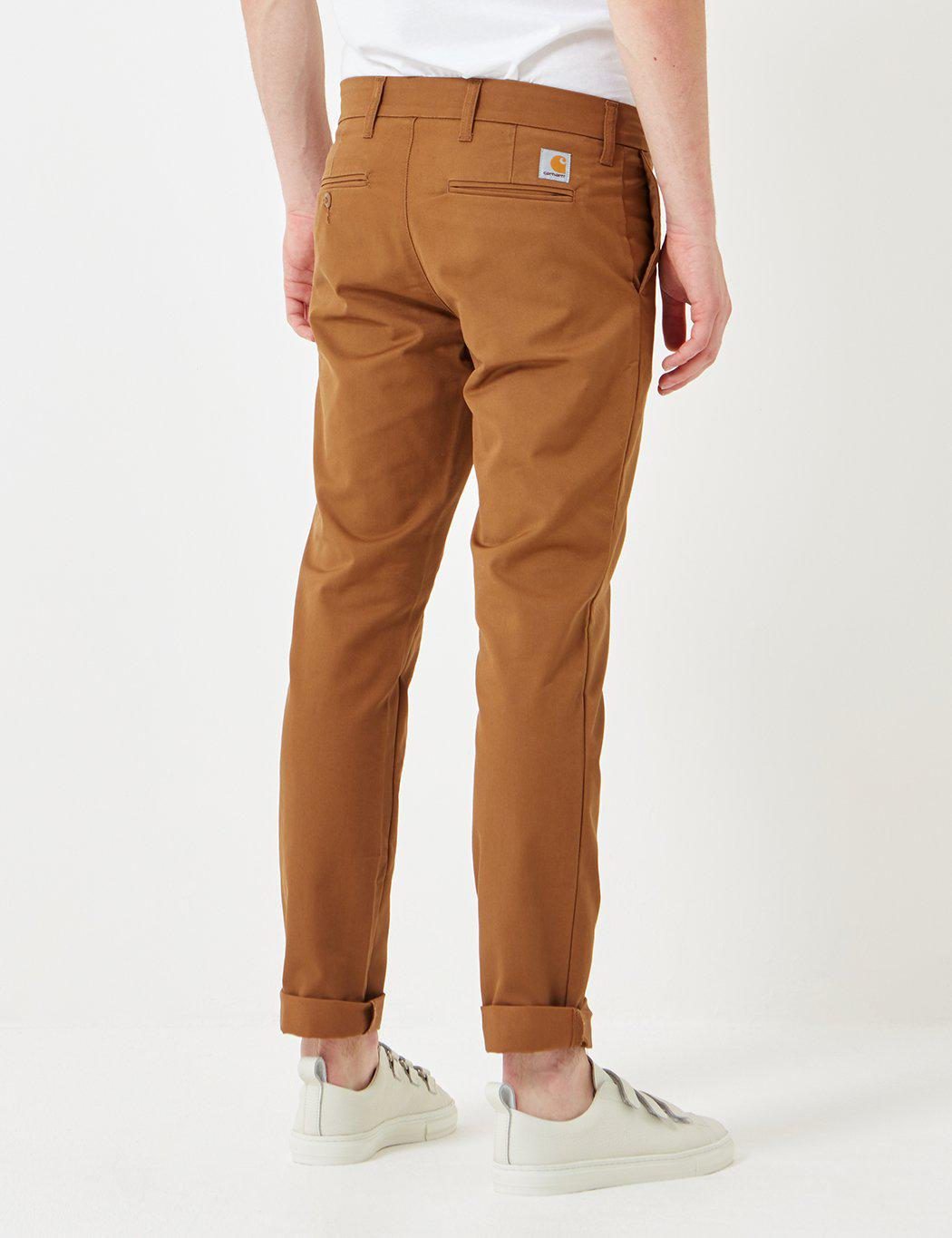 how to wear of brown chinos