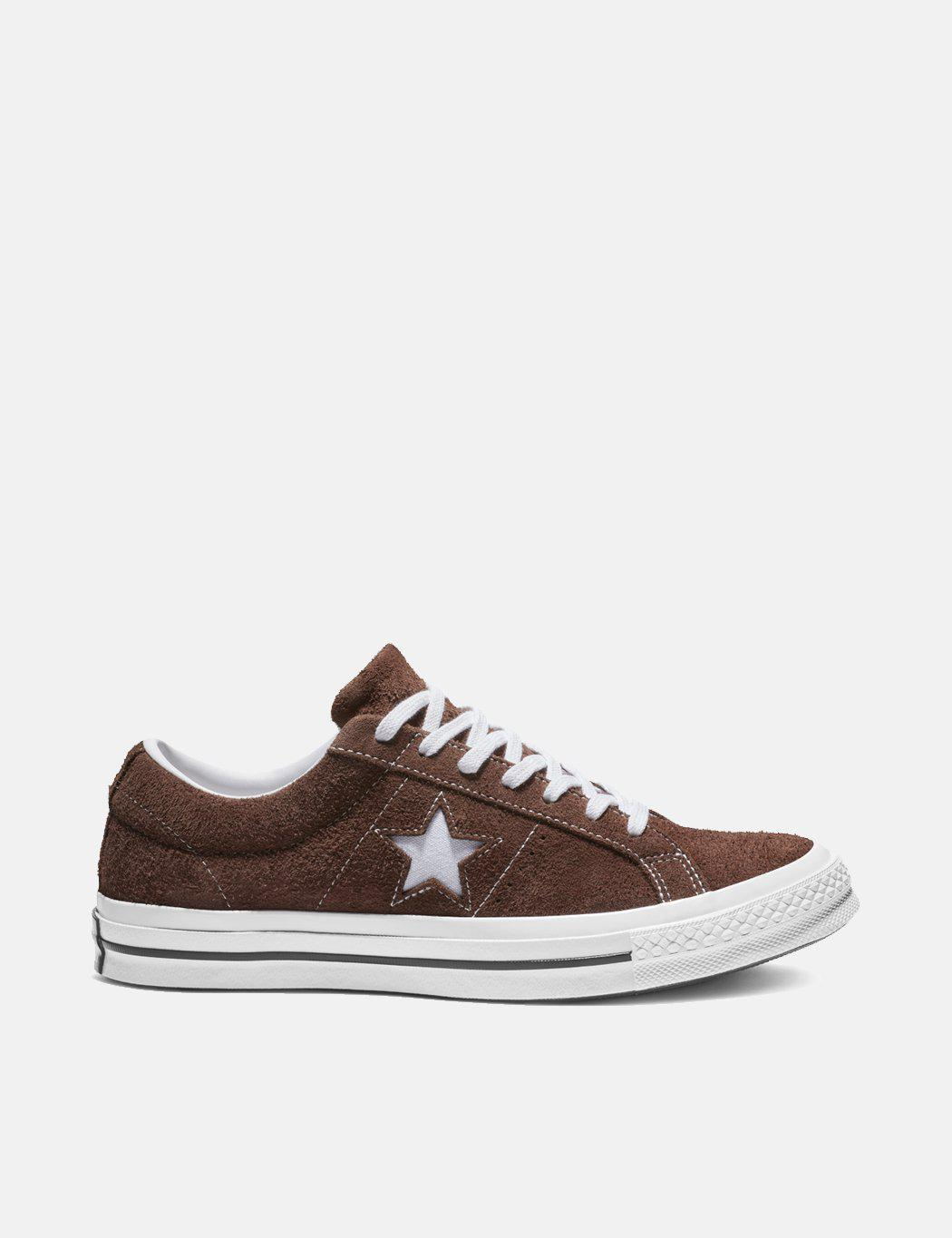 b27fb0fcd4c6 Converse One Star Ox Low Suede (162573c) in Brown for Men - Save 62 ...