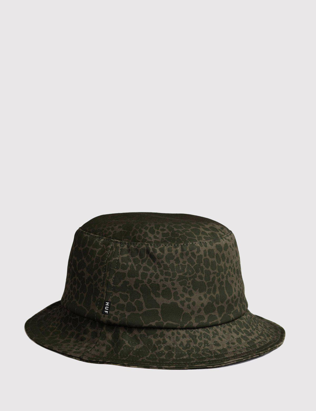 c3f7e6bef5f Lyst - Huf Shell Shock Bucket Hat in Green for Men