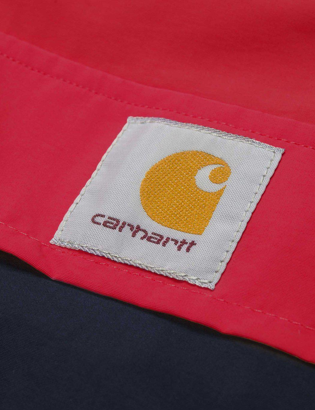 Carhartt Synthetic Nimbus Two Tone Half-zip Jacket (un-lined) in Red for Men