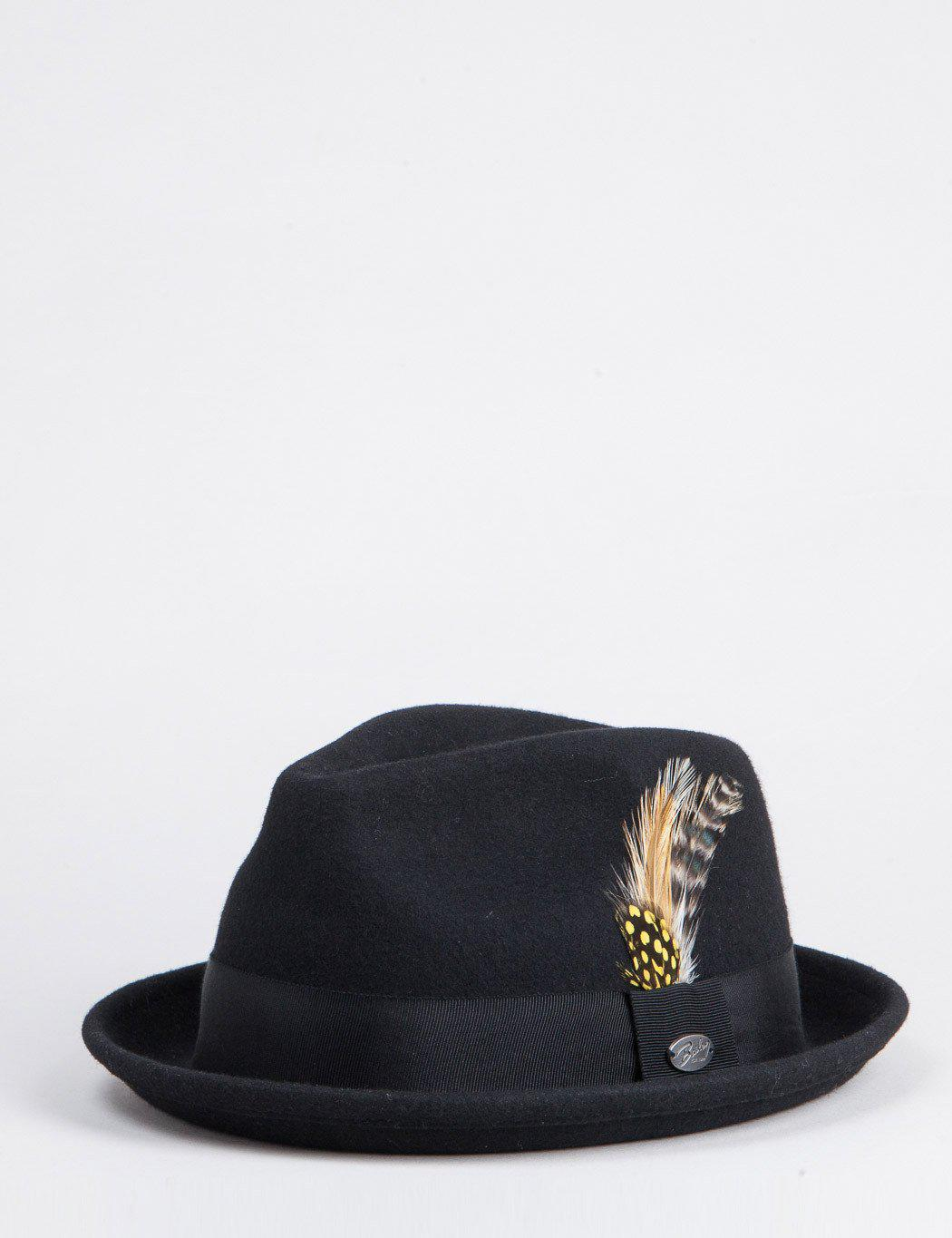 b0c3918d Bailey of Hollywood Bailey Cloyd Trilby Hat in Black for Men - Lyst