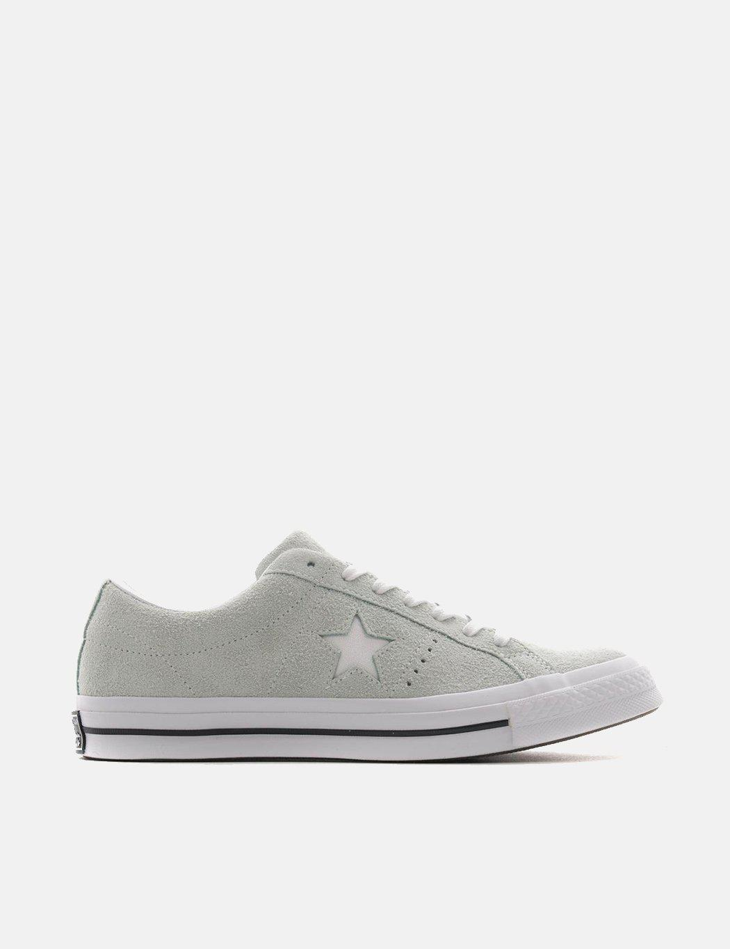 5e79ebad61f3c7 Converse One Star Ox Low Suede (159493c) in Green for Men - Lyst