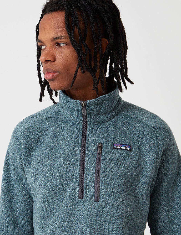 Patagonia Fleece M's Better Zip Sweatshirt in Blue for Men ...