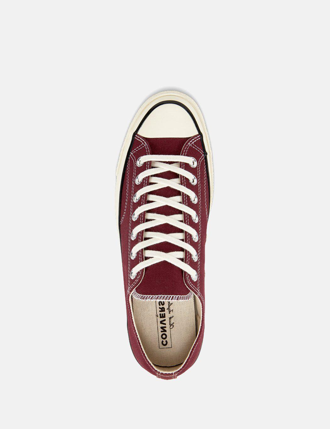229d84989648 Converse - Red 70 s Chuck Low 162059c (canvas) for Men - Lyst. View  fullscreen