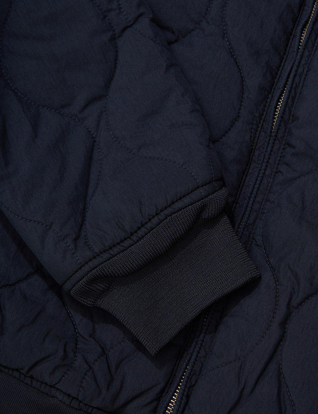 Levi's Cotton Thermore Quilted Bomber Jacket in Navy Blue (Blue) for Men