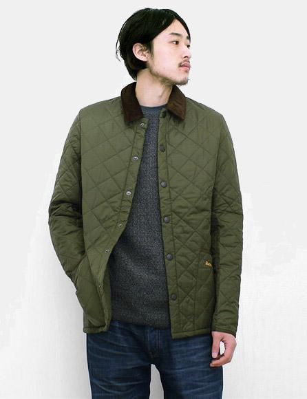 Barbour Heritage Liddesdale Quilted Jacket in Green for Men - Lyst d87d528c95