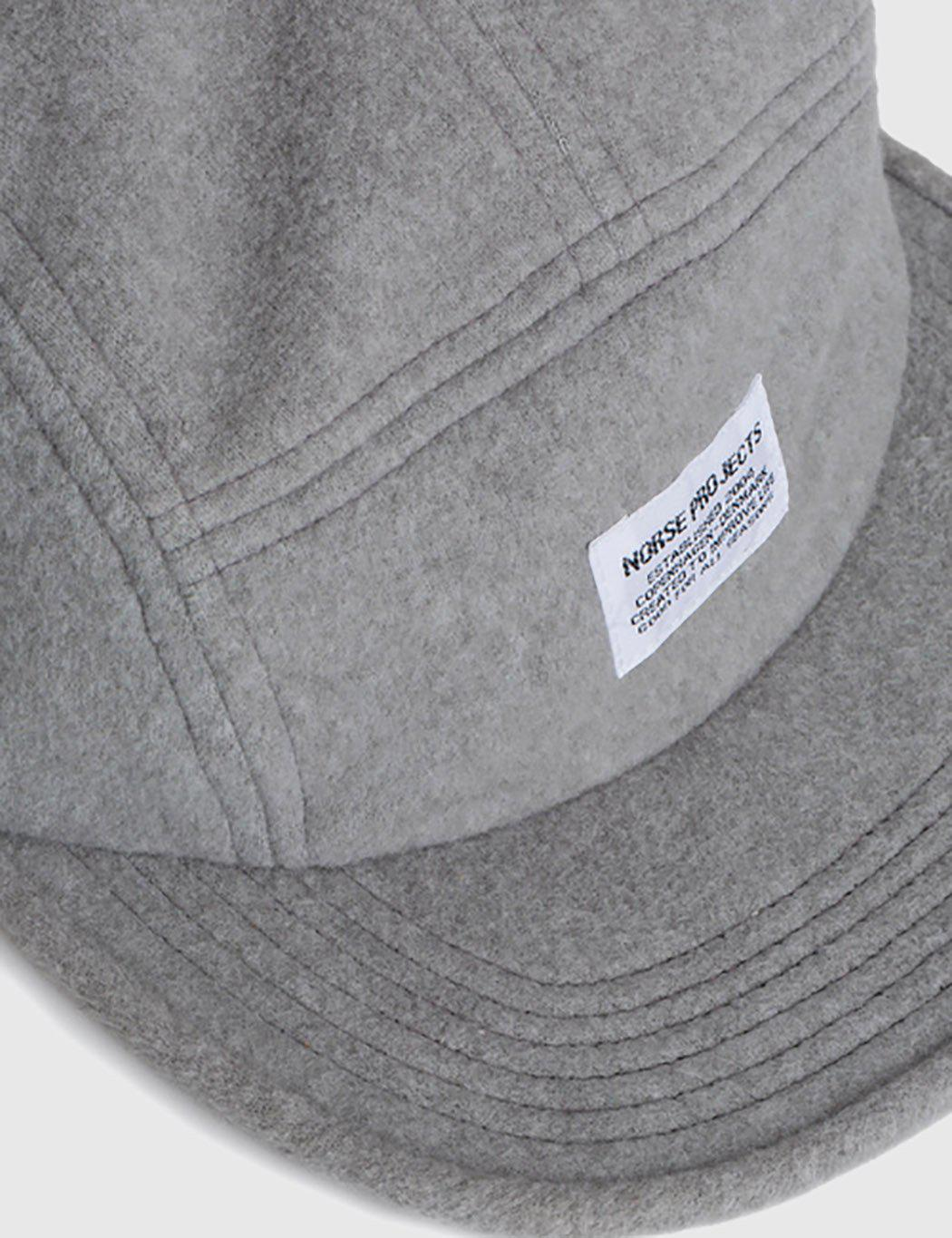 56ece3e4f7f Lyst - Norse Projects Polartec 5 Panel Cap in Gray for Men