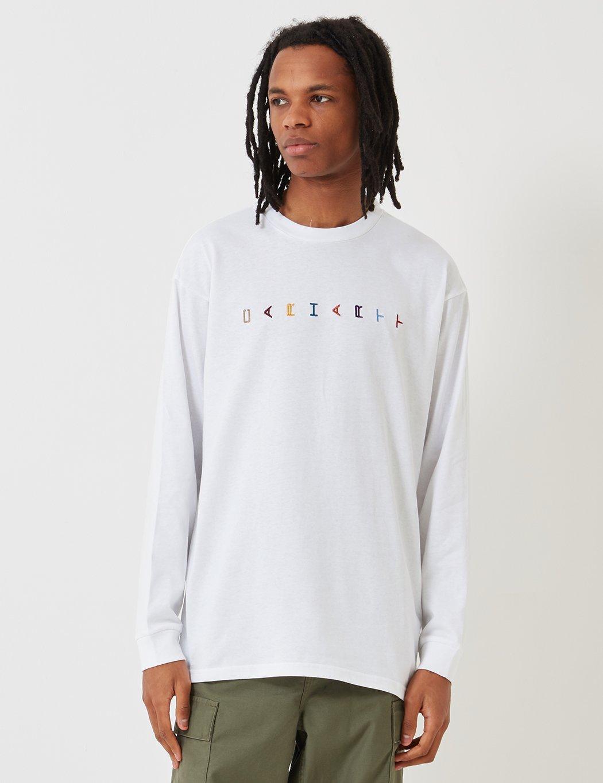 36036f4ab Lyst - Carhartt Horizontal Long Sleeve T-shirt in White for Men