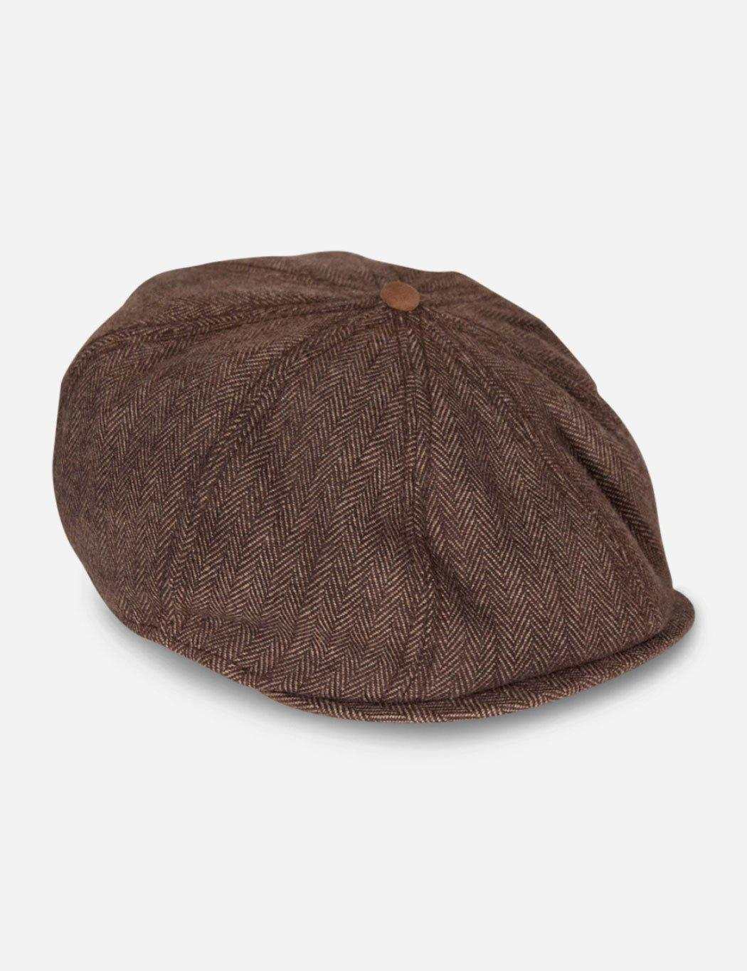Lyst - Goorin Bros The Times Newsboy Cap in Brown for Men 6a4a27f52ed