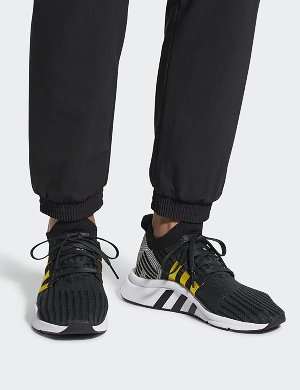 adidas originals eqt support mid adv trainers in black cq2999