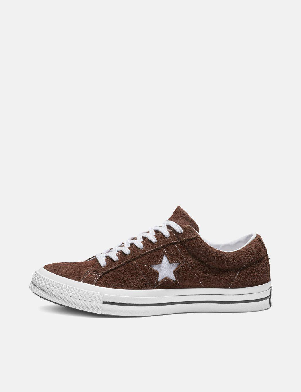 a0d0b2a3a9f Converse One Star Ox Vintage Suede in Brown for Men - Save 62% - Lyst