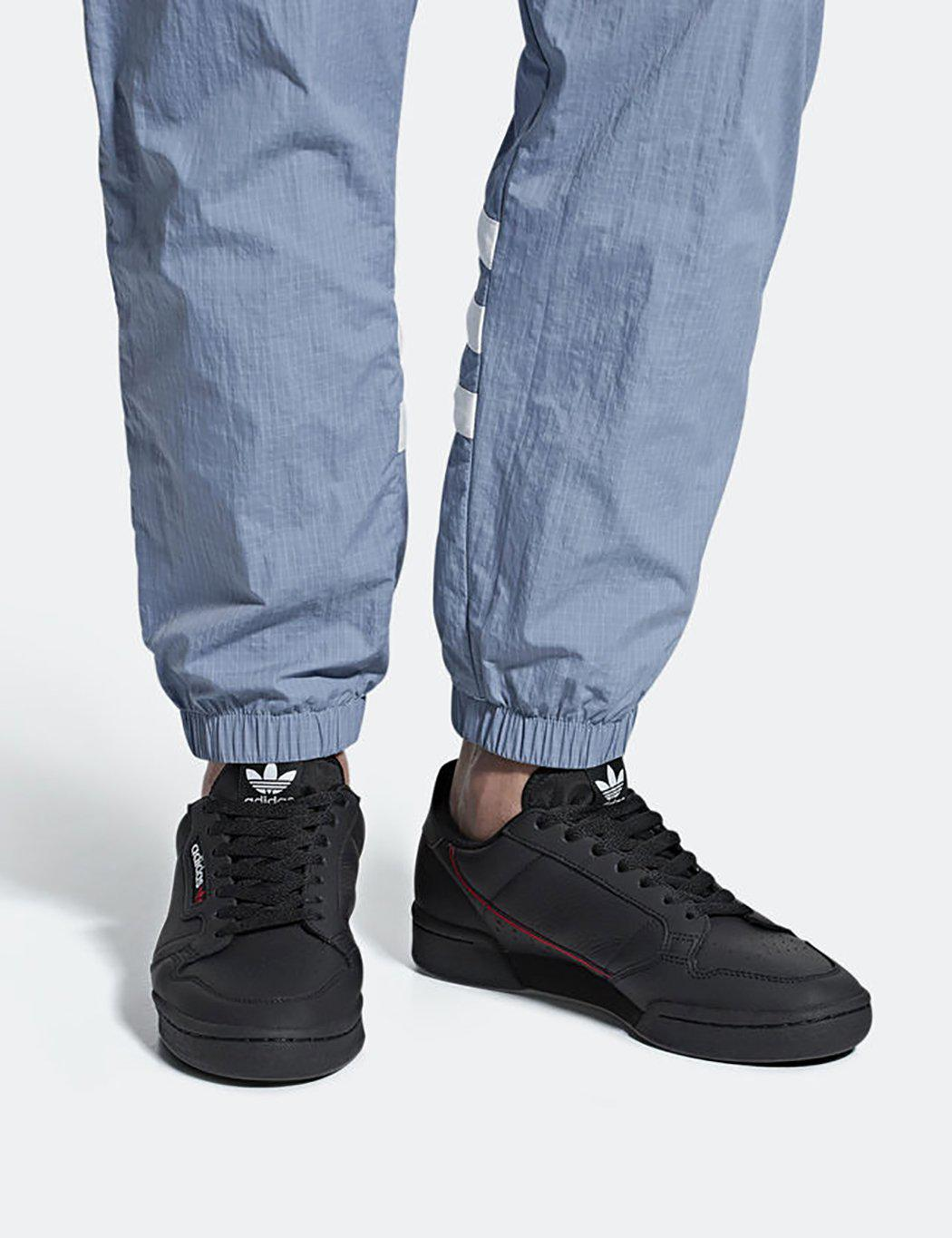 huge discount 99413 93c69 Lyst - adidas Originals Adidas Continental 80 (b41672) in Black for Men -  Save 34%