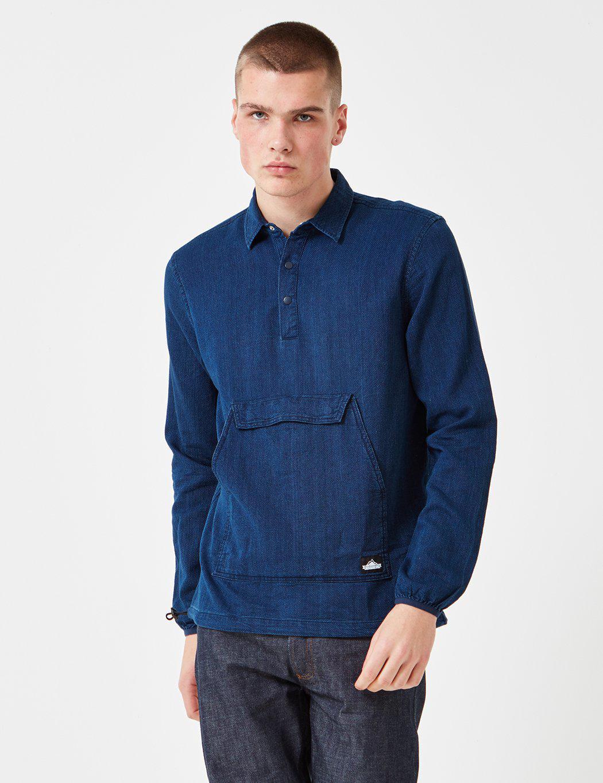Lyst - Penfield Adelanto Shirt Indigo Dyed In Blue For Men-3000