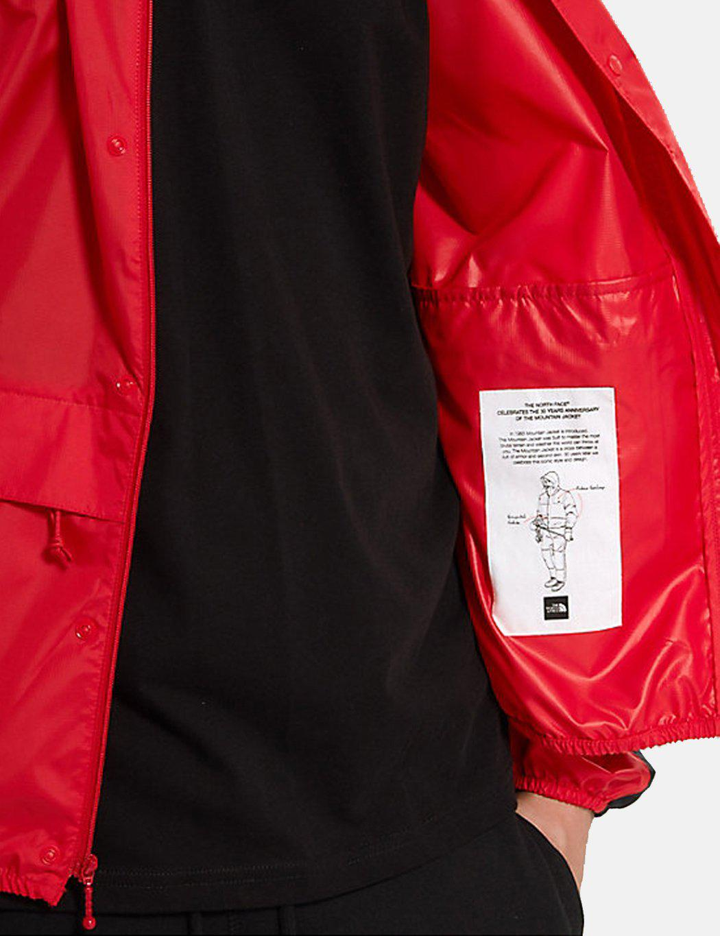 Lyst - The North Face 1985 Sea Cel Mountain Jacket in Red for Men 99fcc408bc42