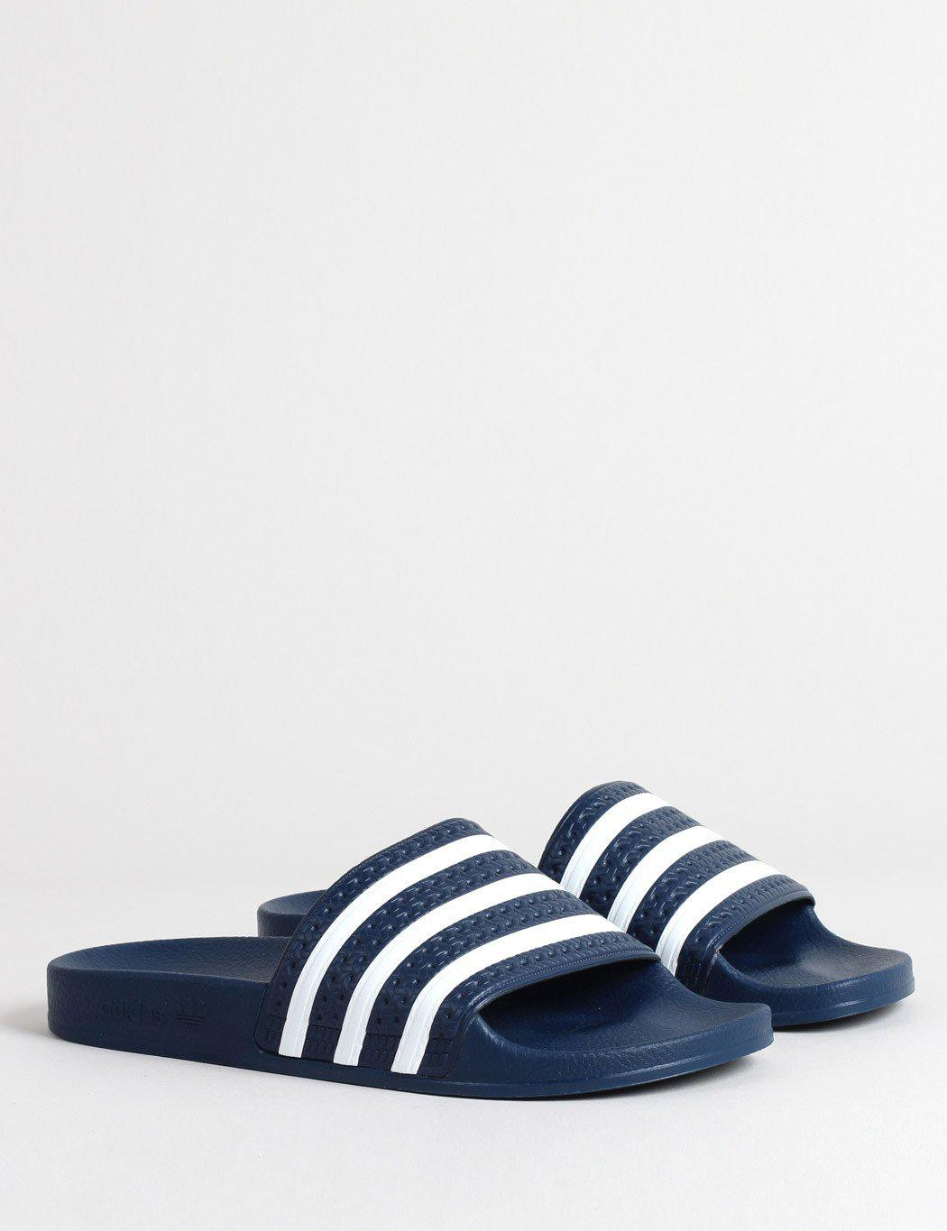 a7ae5684a49c Lyst - adidas Originals Adidas Adilette Slides (288022) in Blue for Men -  Save 45%