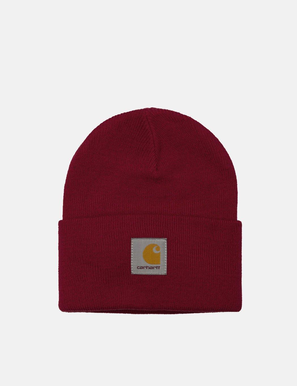 Carhartt - Red Watch Cap Beanie Hat for Men - Lyst. View fullscreen 9d40cf44350b