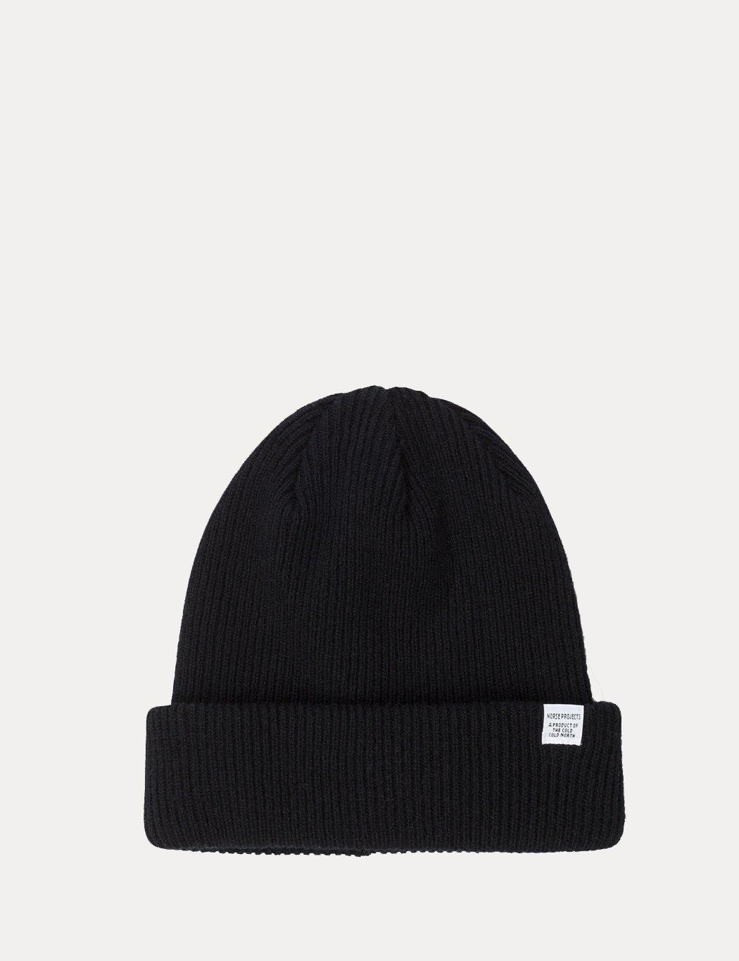 590b8dff113 Norse Projects Norse Top Beanie in Black for Men - Save 44% - Lyst