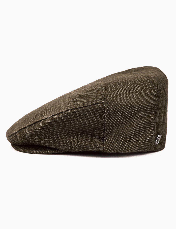 Brixton - Green Hooligan Flat Cap for Men - Lyst. View fullscreen 452620ab35b3