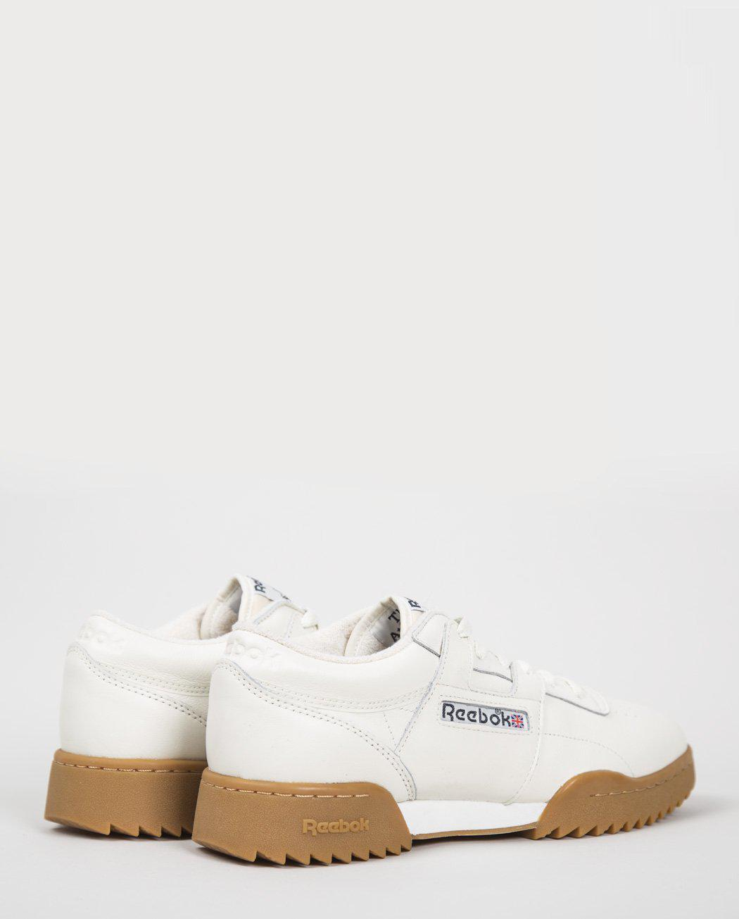050bbc9f122b Lyst - Reebok Workout Clean Ripple (bs8929) in White for Men
