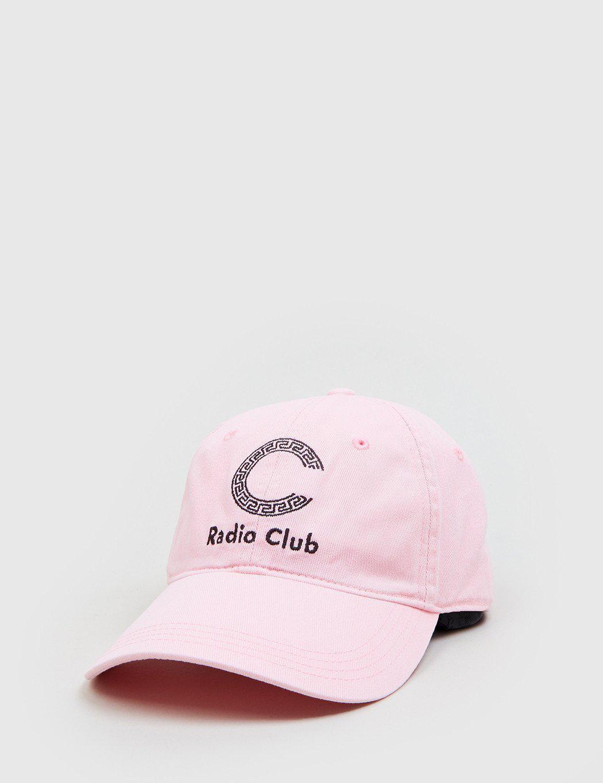 Lyst - Carhartt X P.a.m. Radio Club Cap in Pink for Men c7ecae2842f7