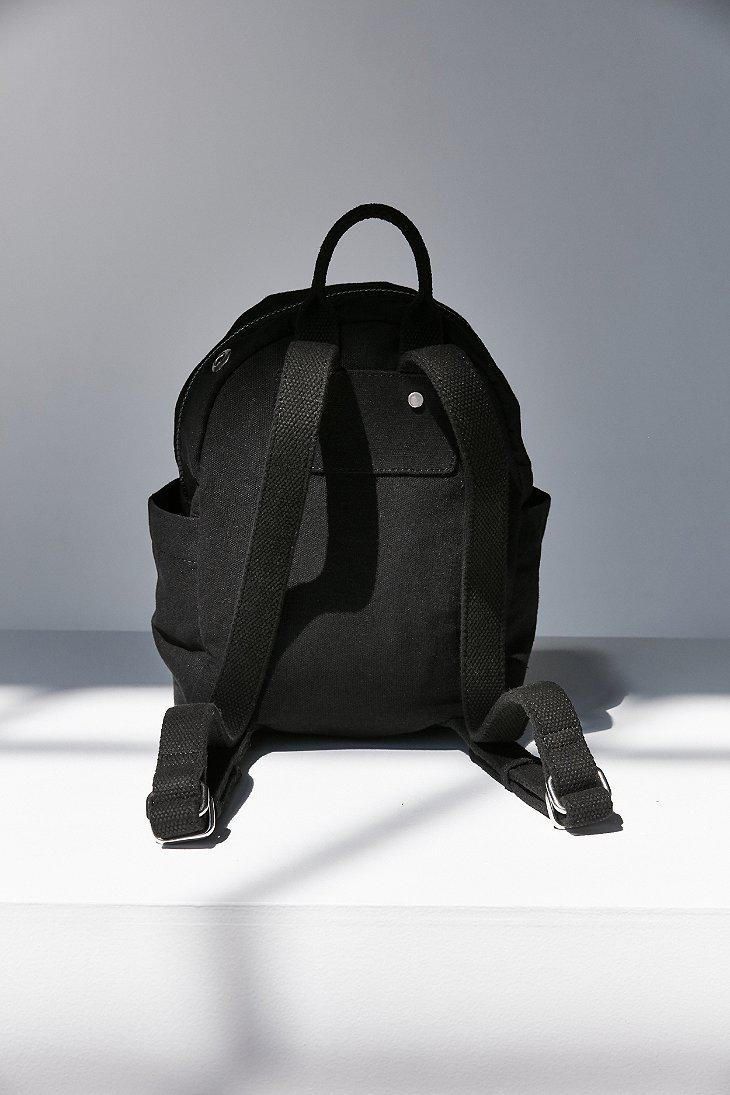 0bc621a257cd Lyst - Urban Outfitters Mini Classic Canvas Backpack in Black