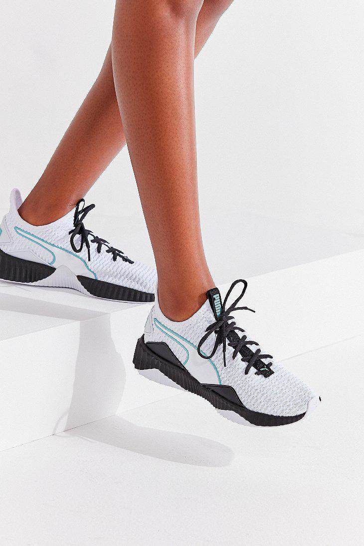 d2084c43225ea9 Lyst - PUMA Puma Defy Sneaker in White