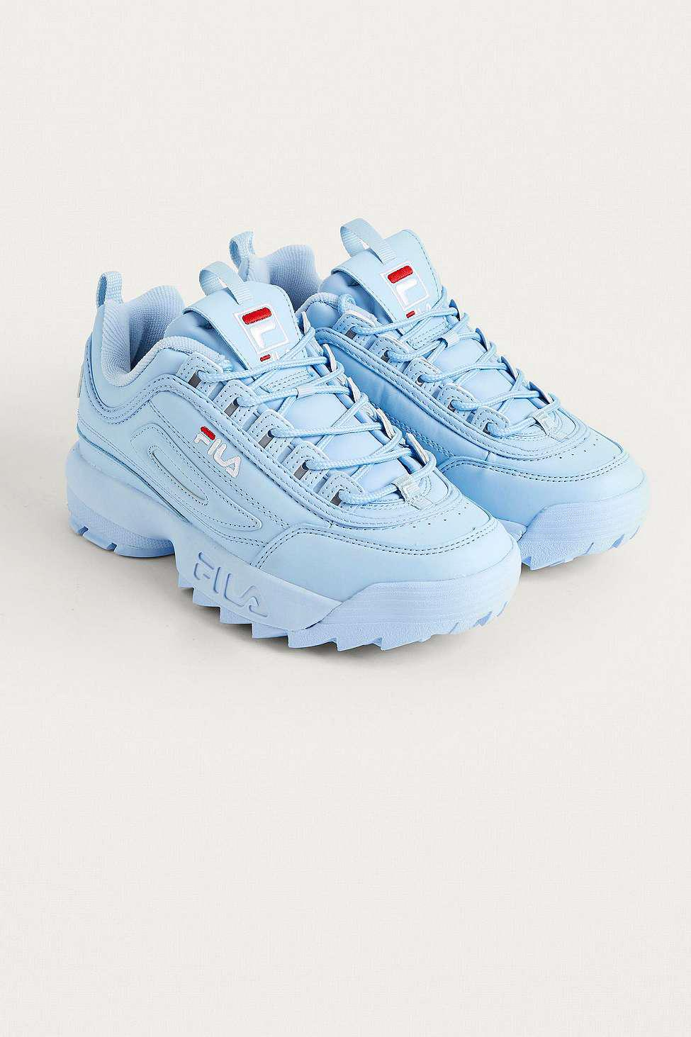 dcca5acf9c03 Fila Disruptor Baby Blue Trainers - Womens Uk 4 in Blue - Lyst