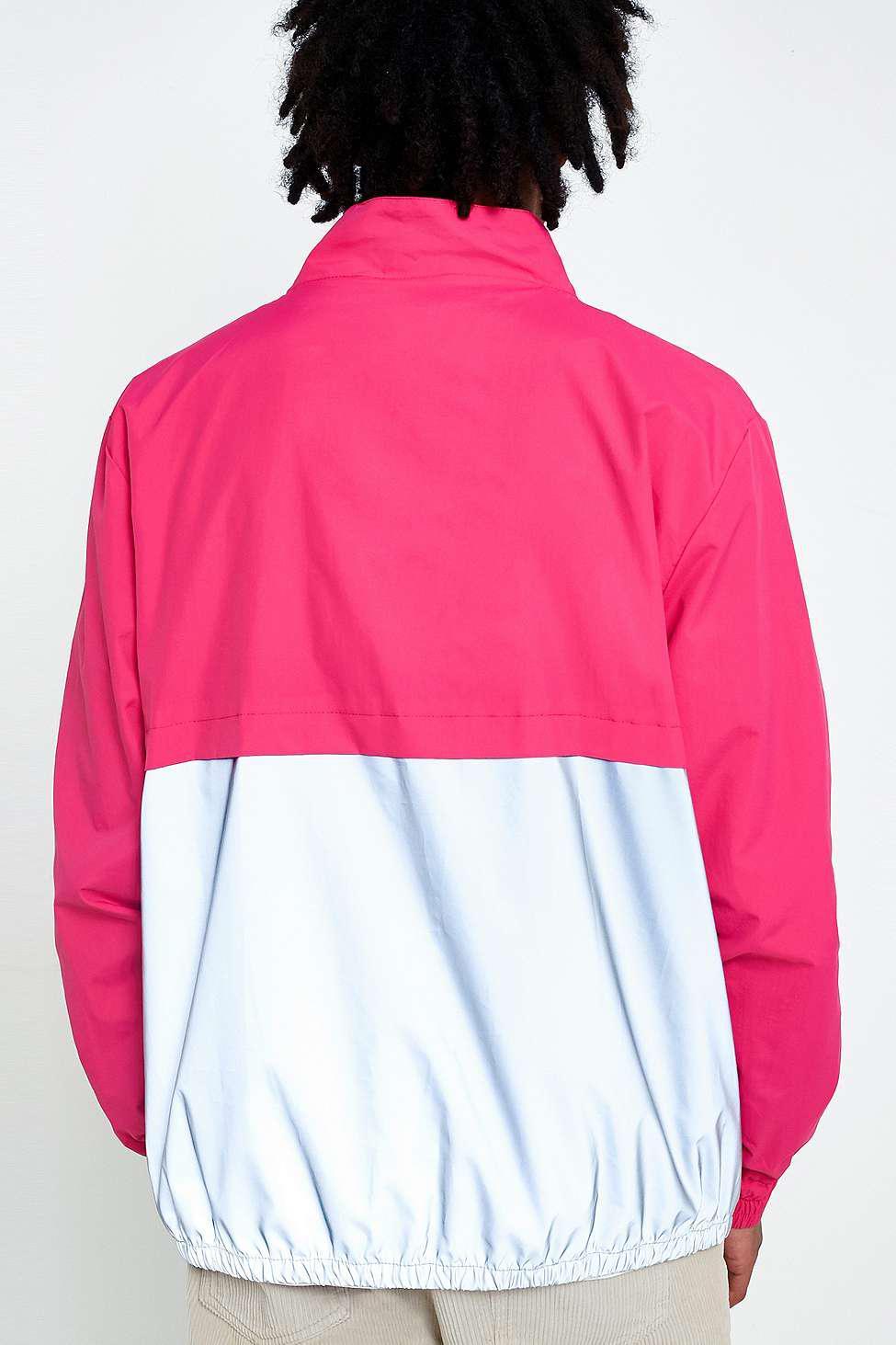 Fila X Uo Levi Pink Zip Jacket for Men