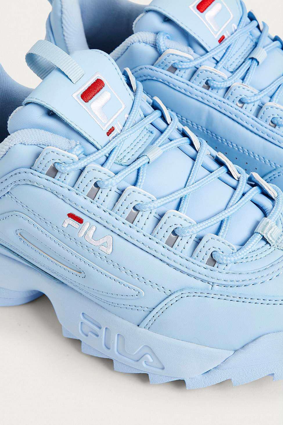 fila baby blue trainers \u003e Clearance shop