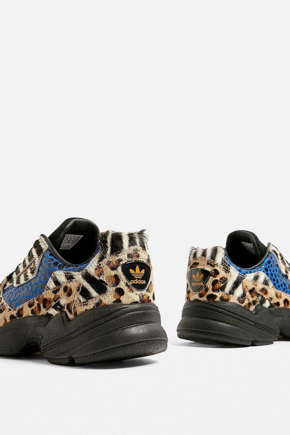 adidas Originals Falcon Animal Print Trainers