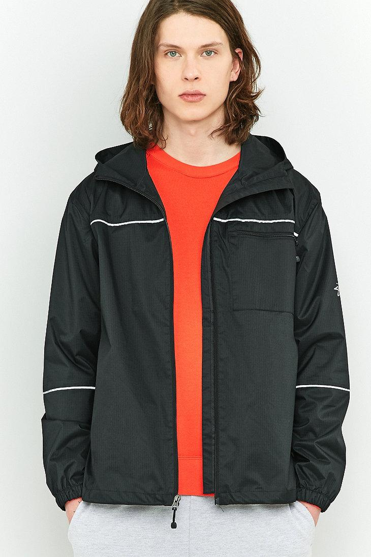 6967e9dbf Stussy 3m Ripstop Jacket in Black for Men - Lyst