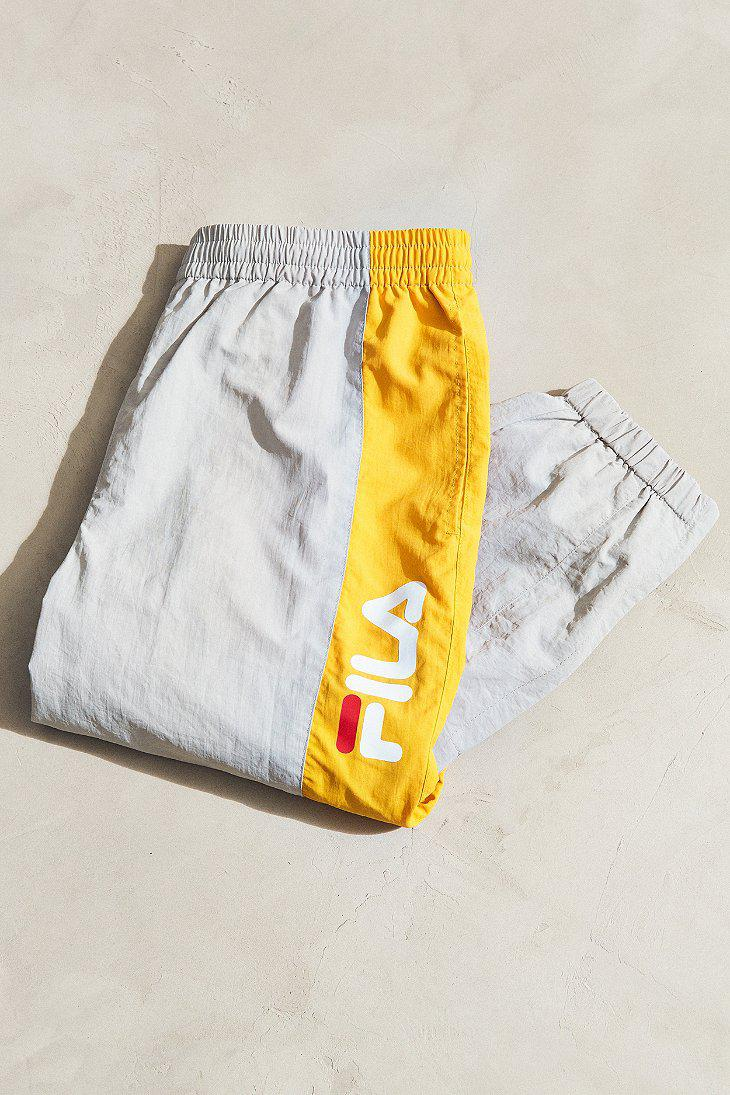 782d4abb8df9 Fila Fila + Uo Barnet Wind Pant in Yellow for Men - Lyst