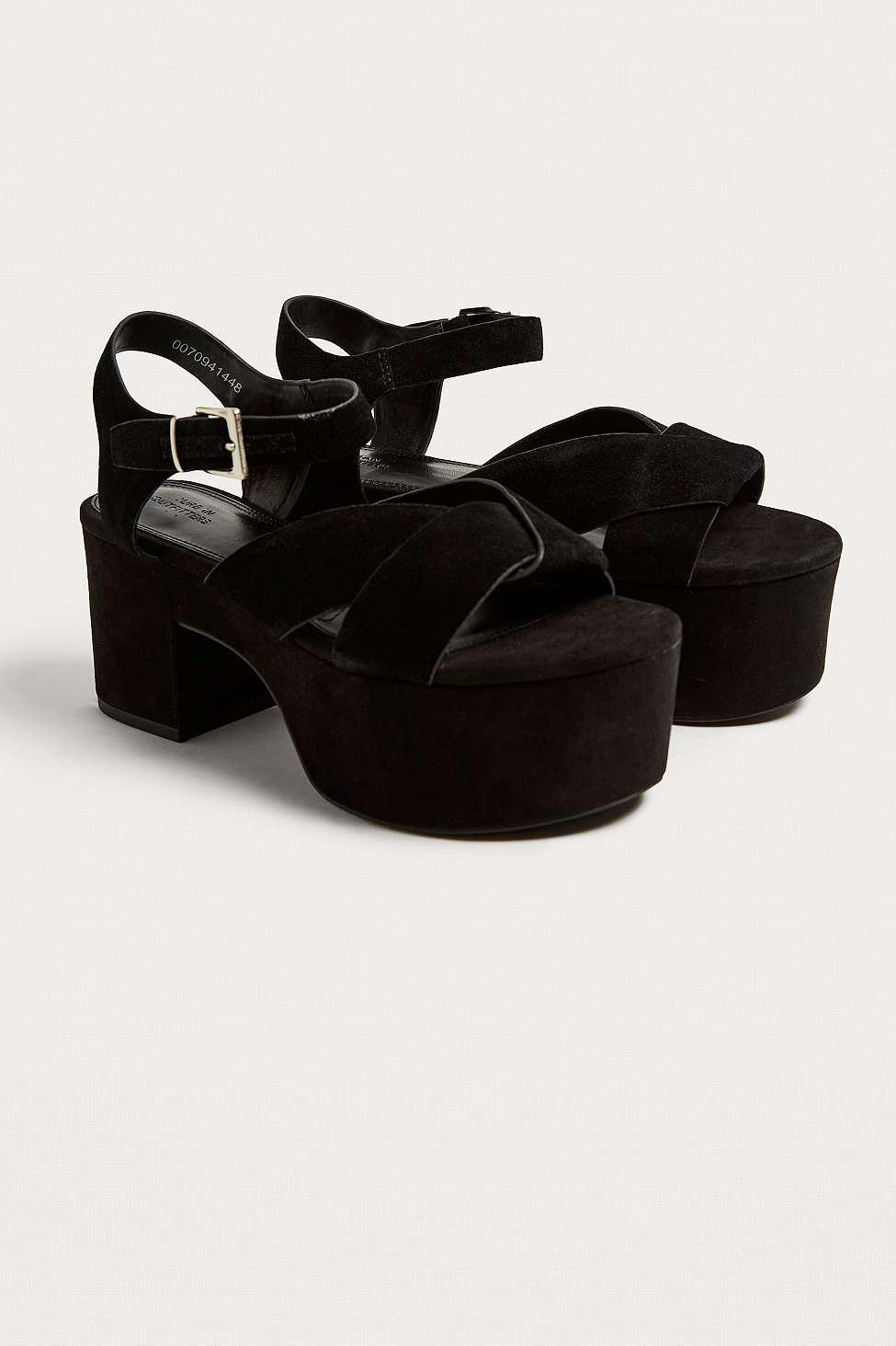 f8438854cf2 Urban Outfitters Uo Harriet Vamp Platform Sandals - Womens Uk 8 in ...