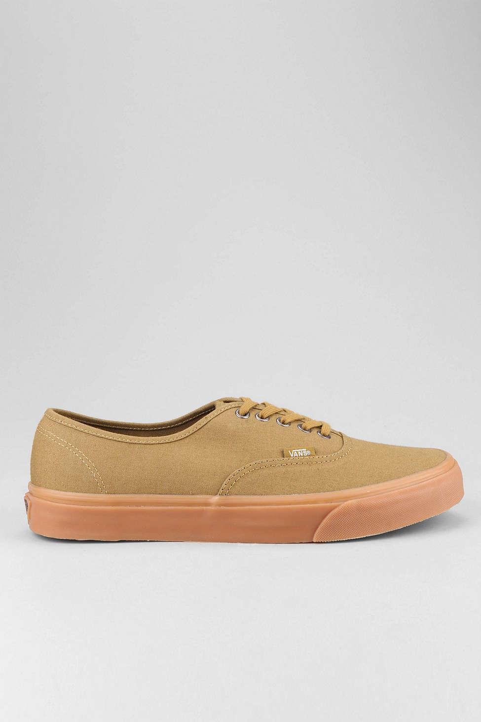 4efc52597457de Lyst - Vans Authentic Gum Sole Sneaker in Brown for Men