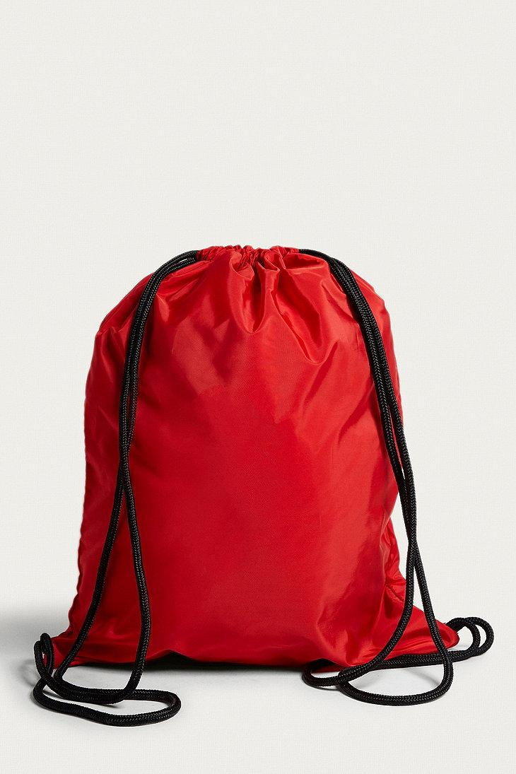 iets frans Synthetic Drawstring Red Backpack - Womens All