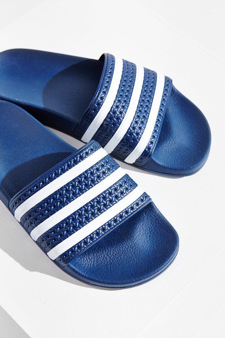 Adidas Originals Rubber Originals Adilette Pool Slide In