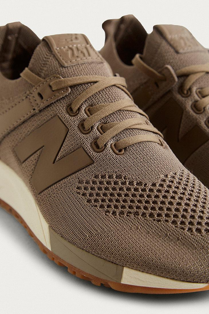 655deb84ed989 New Balance 247 Deconstructed Taupe Knit Trainer in Brown for Men - Lyst  new balance 247
