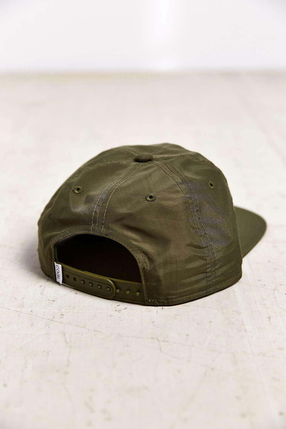 1ce7226470f Coal The Summit Snapback Hat in Green for Men - Lyst