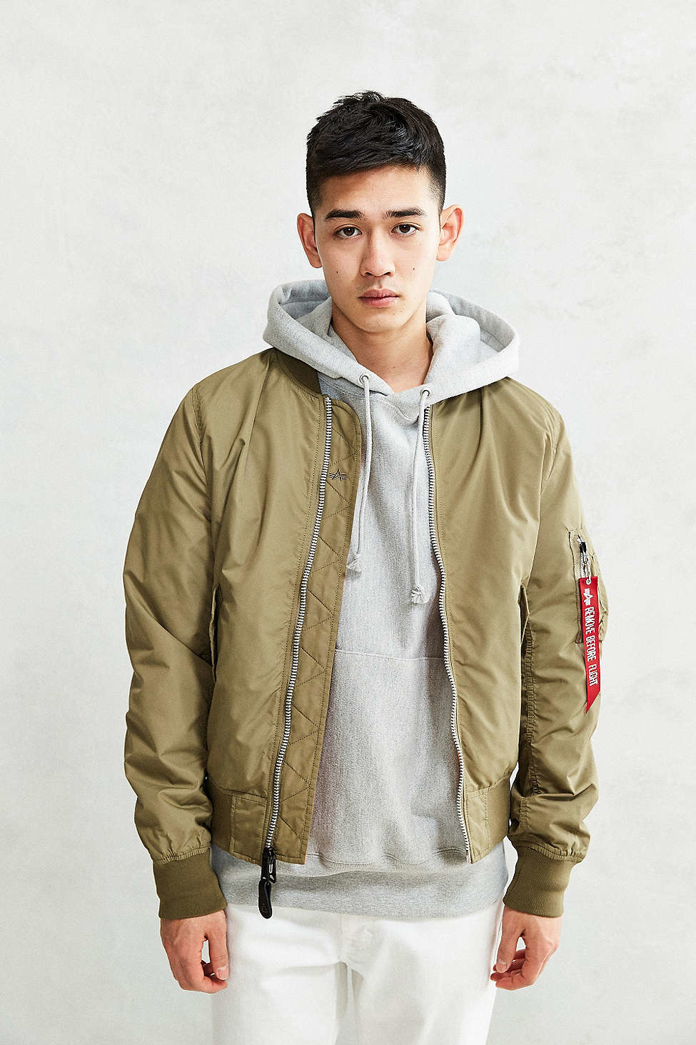 Alpha industries L-2b Scout Bomber Jacket for Men | Lyst