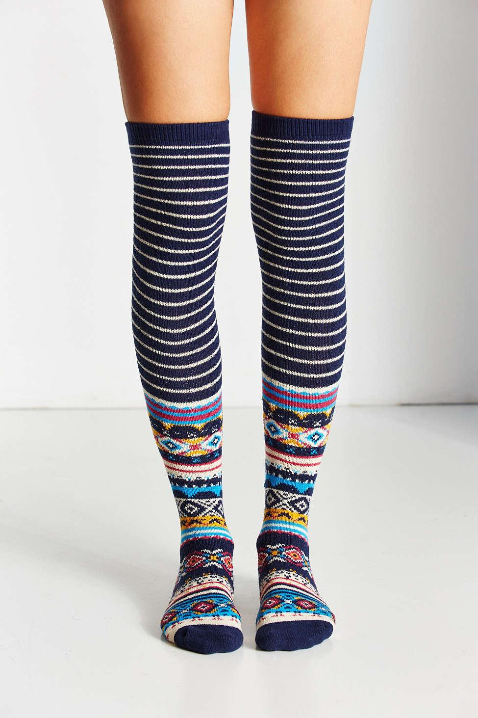 d979cfa3e22 Gallery. Previously sold at  Urban Outfitters · Women s Knee High Socks