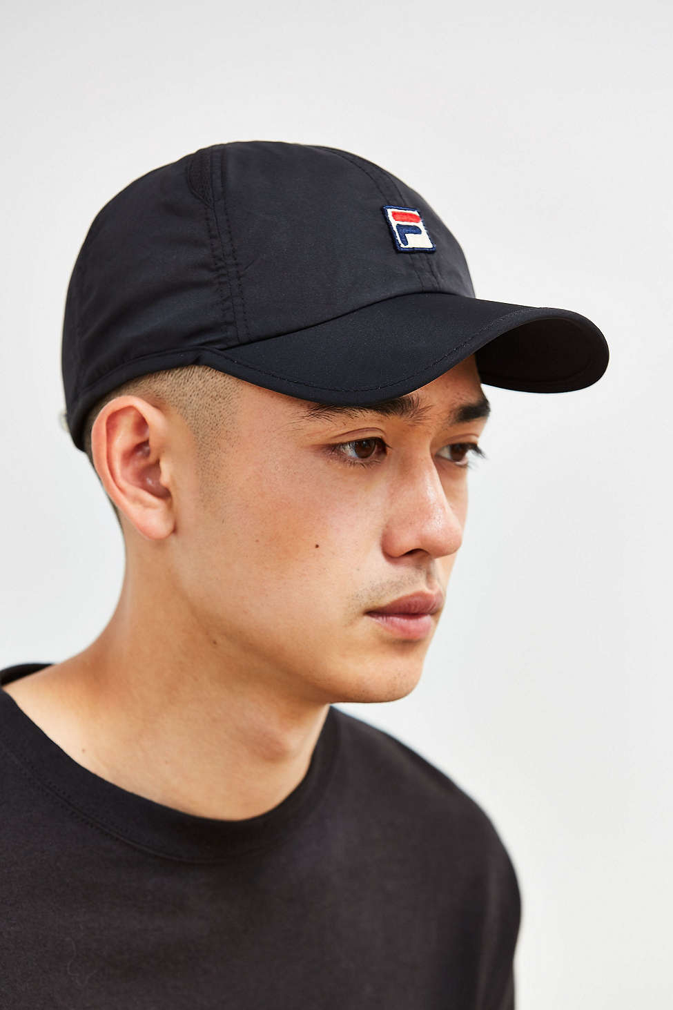 Lyst - Fila Runner Baseball Hat in Black for Men ec4f649f79d