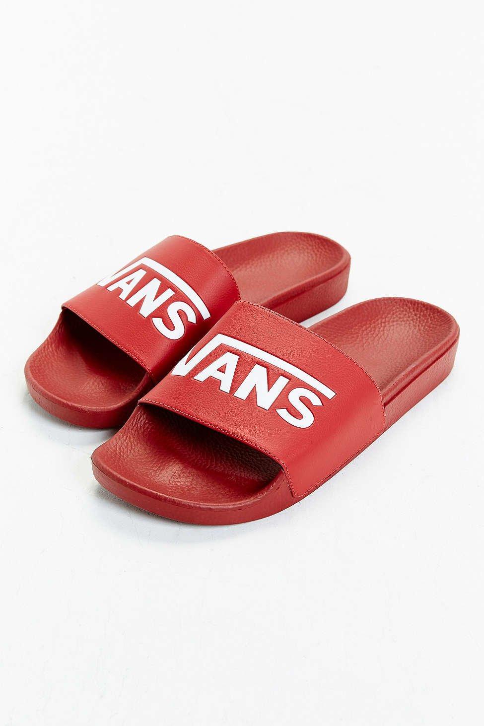 buy \u003e vans red sandals, Up to 69% OFF